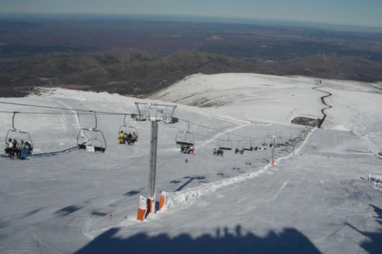 Imagen de la estación de esquí La Covatilla
