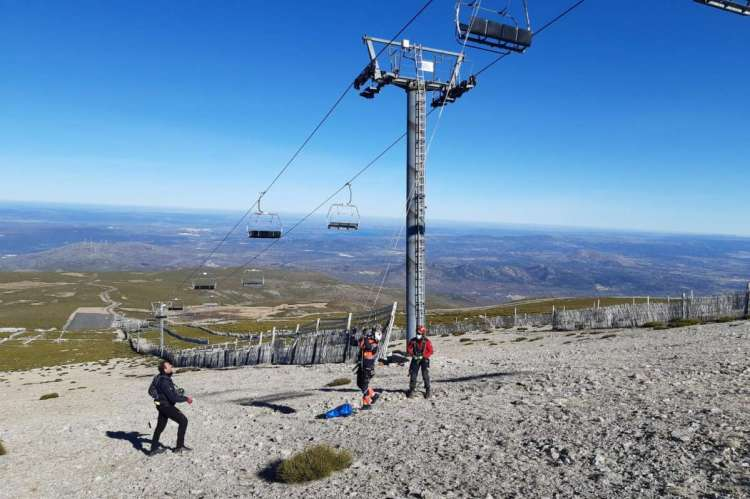 Trabajos estación de esquí La Covatilla