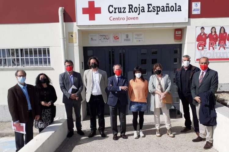 Visita a Cruz Roja Salamanca