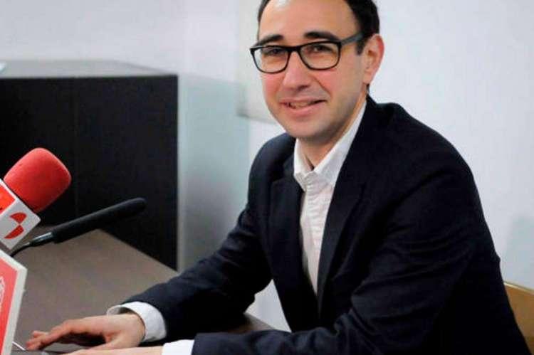 David Serrada, diputado del PSOE Salamanca
