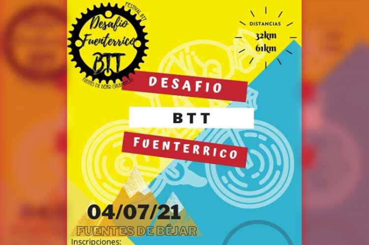 Cartel del I Desafío BTT Fuenterrico