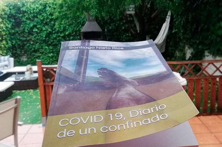 Portada de Diario de un confinado de Santiago Nieto
