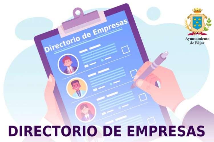 El  Ayuntamiento elabora un directorio de empresas de Béjar