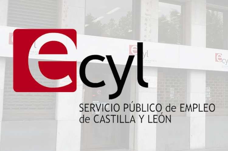 Logotipo ecyl con imagen de fondo
