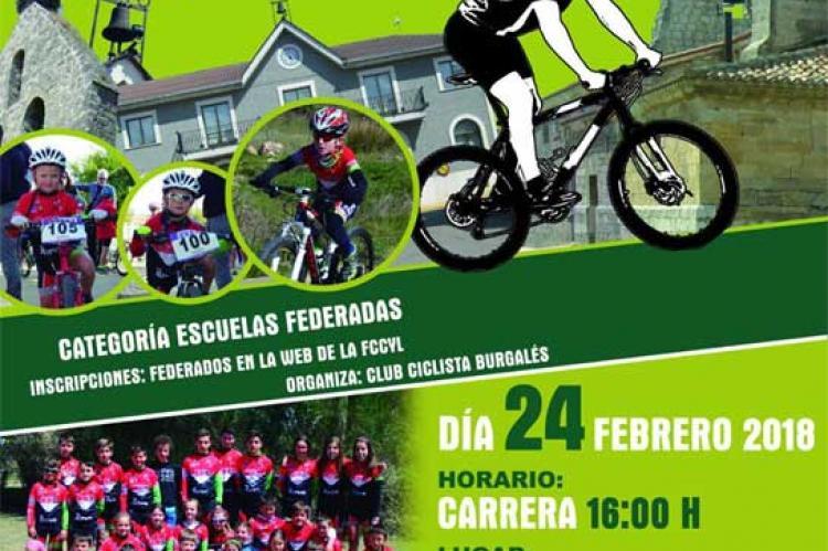 Cartel II Trofeo Villalbilla de Burgos de BTT
