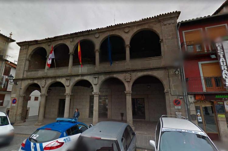 Fachada Ayuntamiento de Béjar