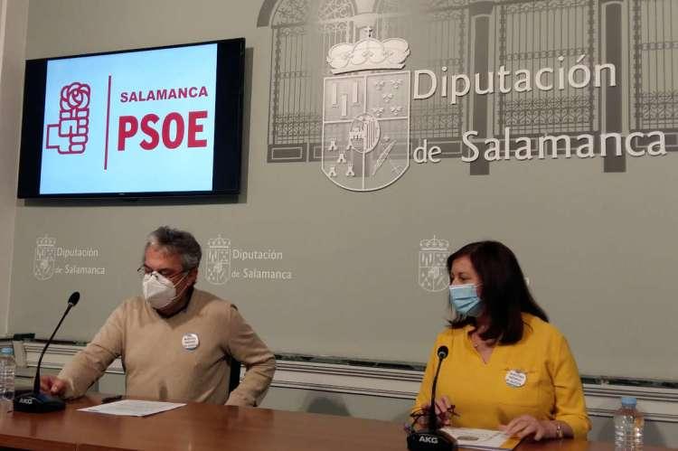 Fernando Rubio y Carmen Ávila PSOE Salamanca