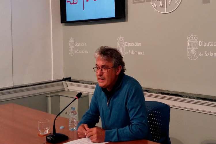 Portavoz del Grupo Socialista en la Diputación, Fernando Rubio