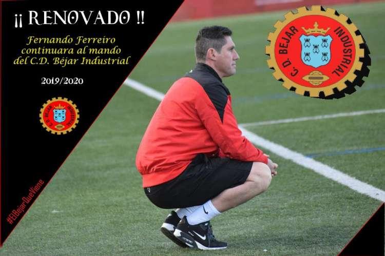 Imagen del Ferreiro publicada por el club