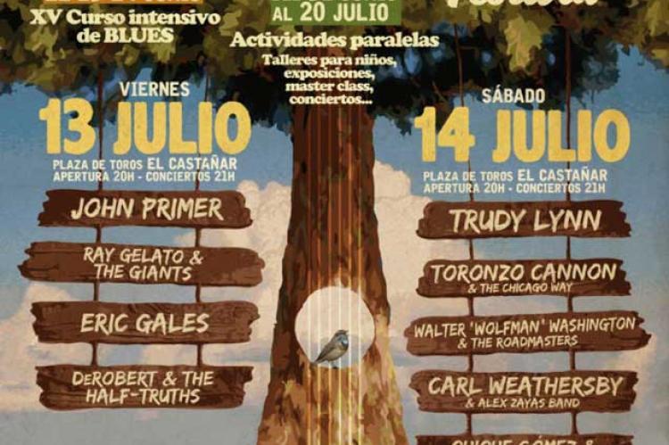 Cartel XIX Festival de Blues