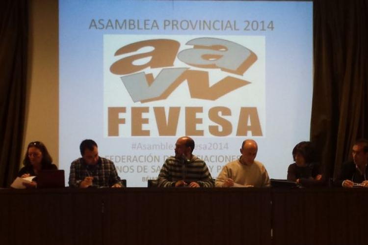 Imagen de archivo de una Asamblea  de FEVESA
