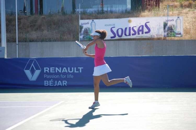 Final femenina de tenis, 2019. Imagen Club de tenis de Béjar