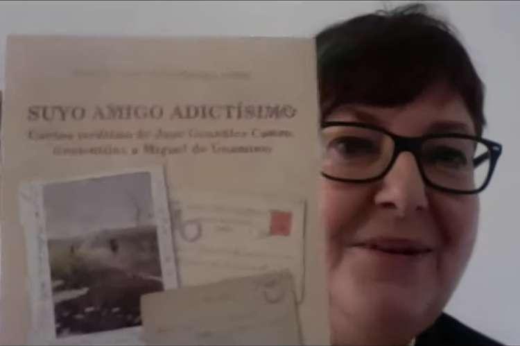 Josefa Montero, en el video presentación del trabajo