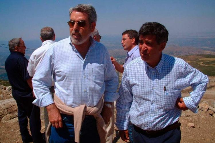 Francisco Montero y Alejo riñones en La Covatilla