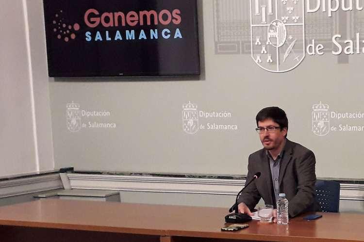 Gabriel de la Mora, Ganemos Salamanca