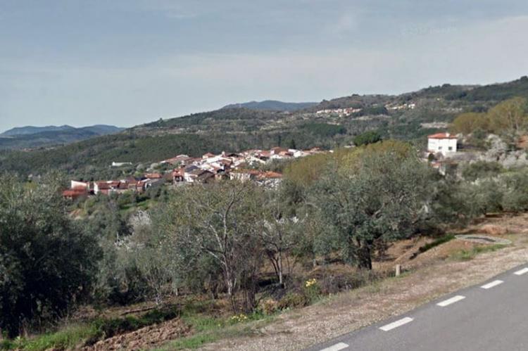 Garcibuey, vista desde la carretera SA-220