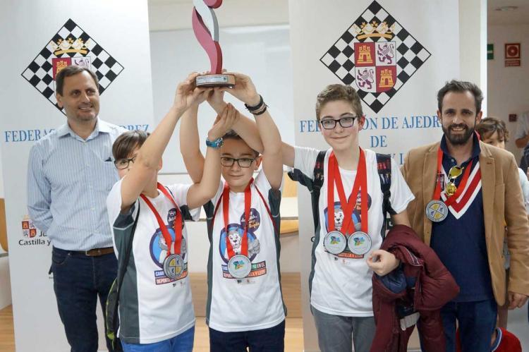 El equipo infantil participó en el regional el sábado en Valladolid