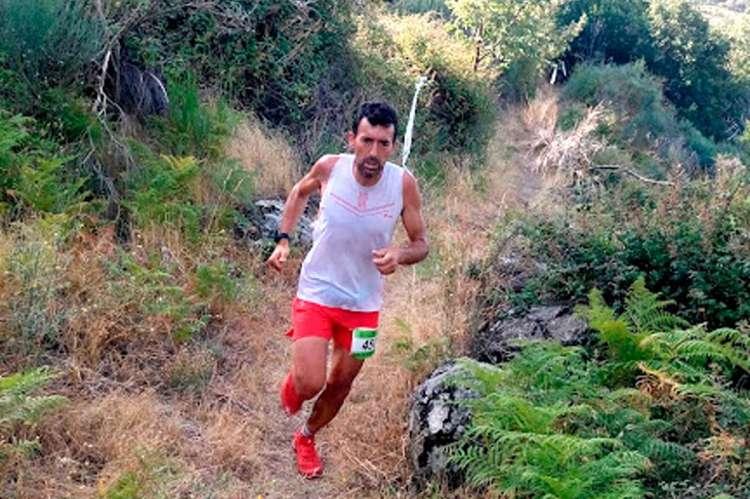 Miguel Heras durante la carrera