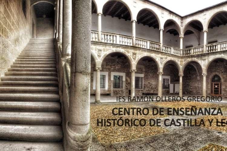 Claustro del IES Ramón Olleros, palacio ducal de Béjar
