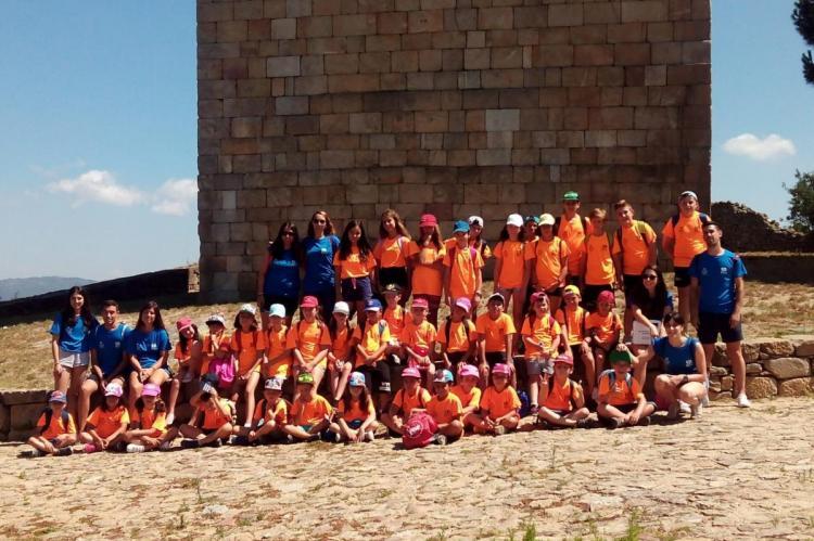 Componentes del viaje intercambio de Bejuven con jóvenes de Pinhel, Portugal