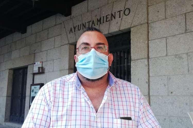 José Ángel Castellano concejal de Medio Ambiente del Ayuntamiento de Béjar
