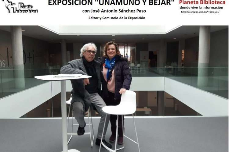 Jose antonio Sanchez Paso, imagen. Blog biblioteca de Traducción y Documentación de la Universidad de Salamanca
