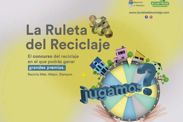 Cartel de La ruleta del reciclaje