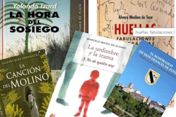 Collage con las portadas de libros
