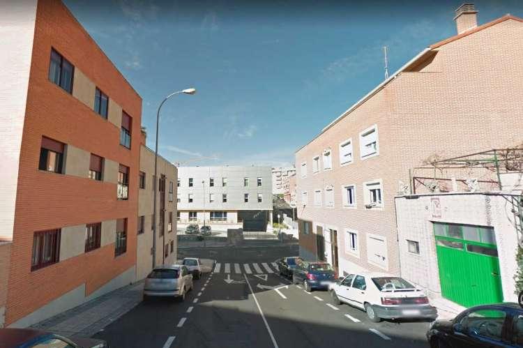 Lugar en el que se produjeron los hechos en Salamanca