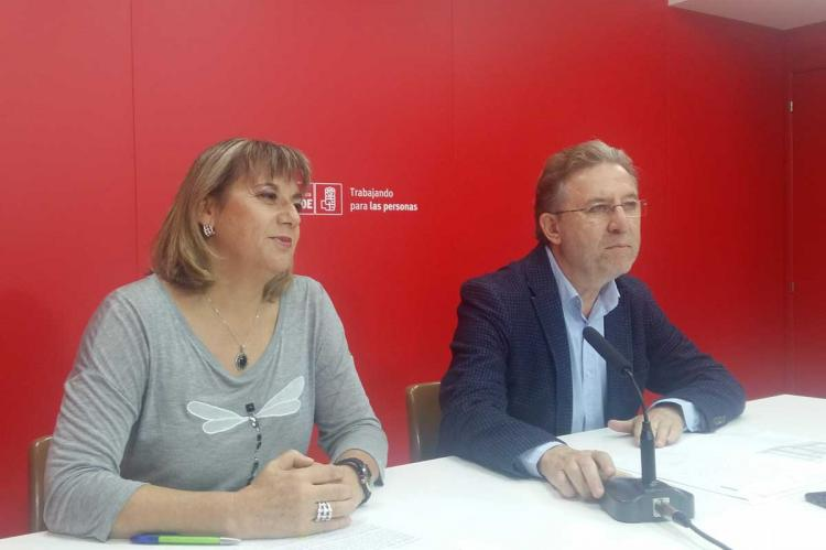 María García y Fidel Francés