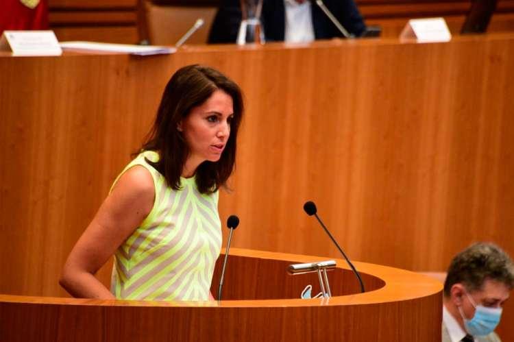 María Montero en las cortes de Castilla y León