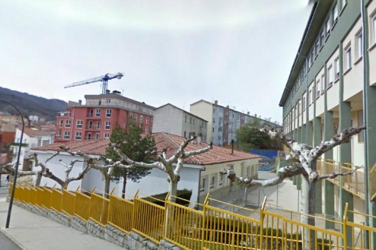 Vista exterior del colegio Marqués de Valero de Béjar