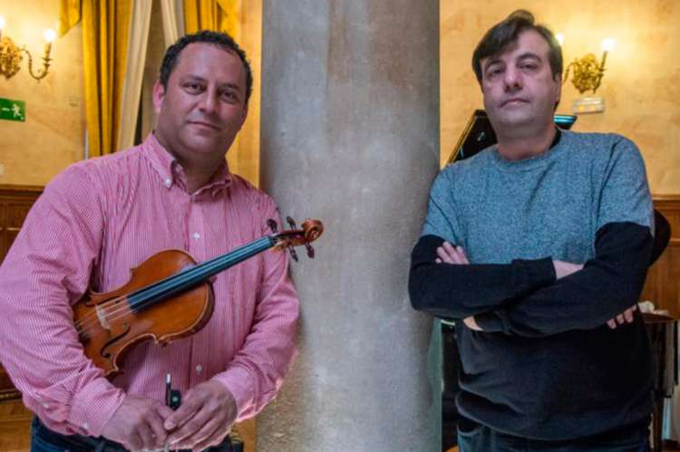 Sergio Fuentes y Chema Corvo