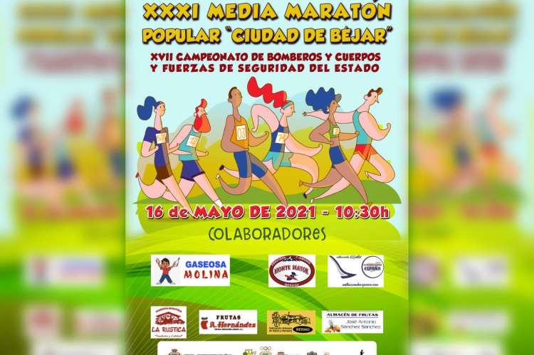 Cartel de la XXXI Media Maratón Popular