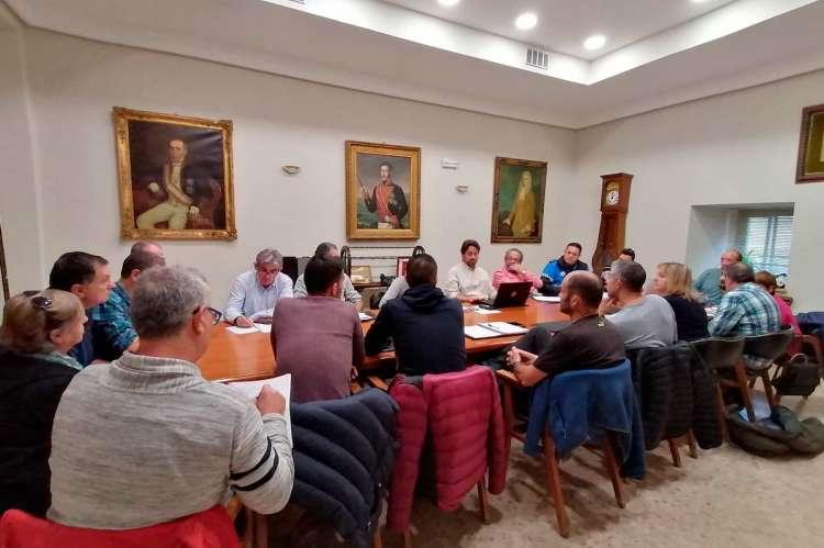 Reunión de la mesa general de negociación del Ayuntamiento de Béjar