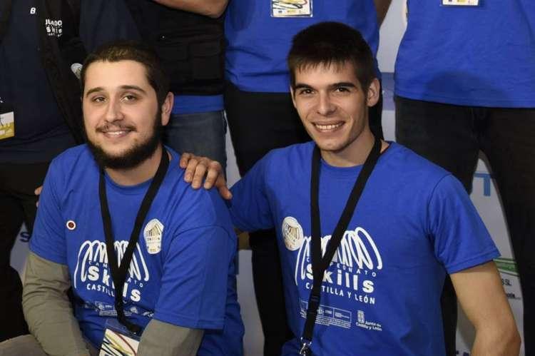Miguel Palacios y Rodrigo Sánchez Imagen Facebook del CIFP Béjar