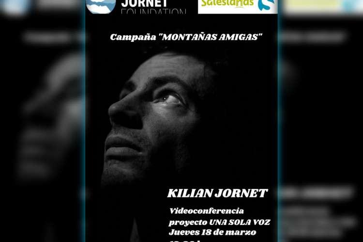 Cartel de la campaña Montañas Amigas