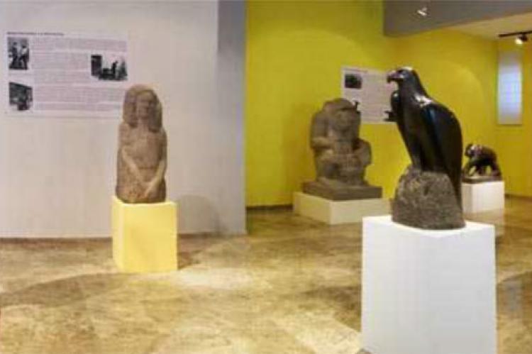 Interior museo Mateo Hernández