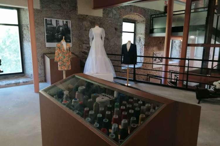 Espacio del Museo Textil de Béjar en el que se exponen los trabajos