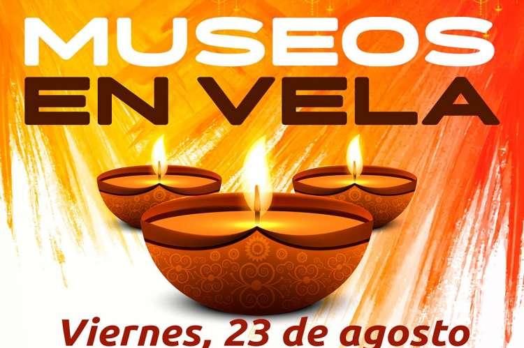 Detalle del cartel Museos en Vela
