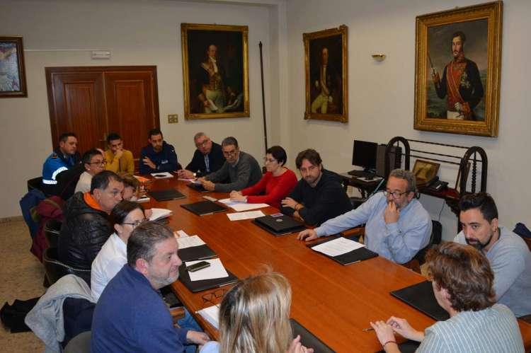 Mesa de reunión de la negociación colectiva trabajadores municipales de Béjar