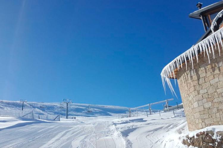 Nieve en La Covatilla