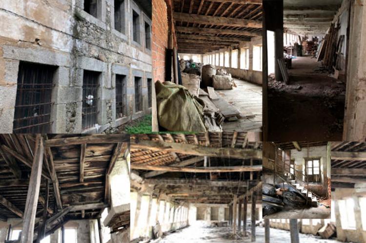 collage fotográfico con imágenes de la zona a visitar