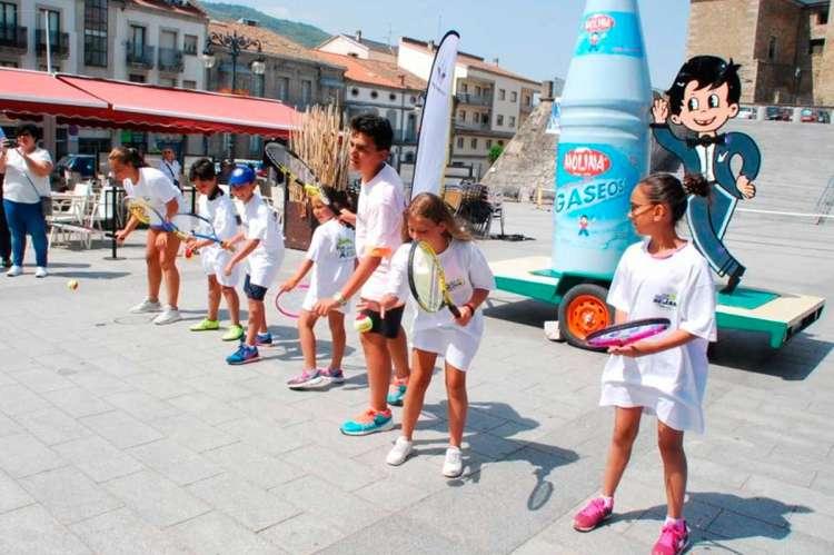 Presentación del XVIIedición delOpen Ciudad de Béjar VIII Trofeo IBP Uniuso