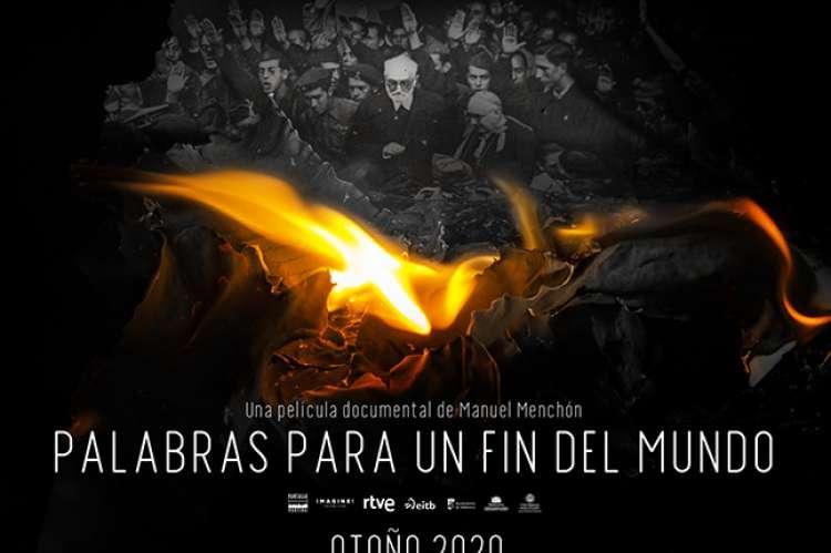 Cartel palabras para un fin del mundo Unamuno
