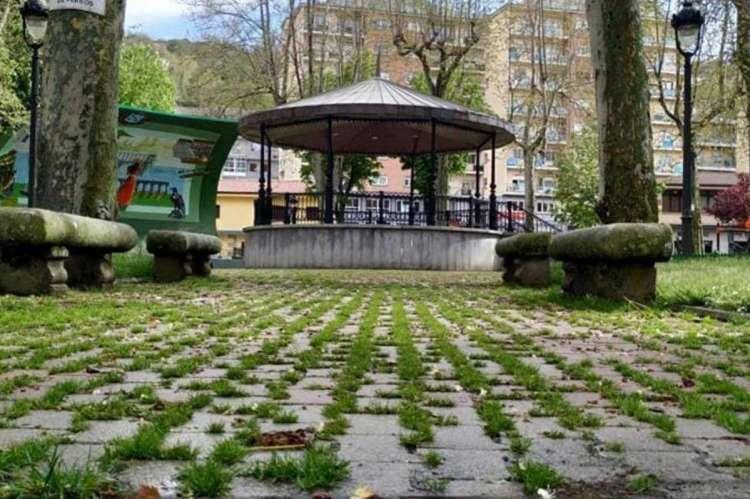 Estado parque municipal. Imagen FB José angel Castellano