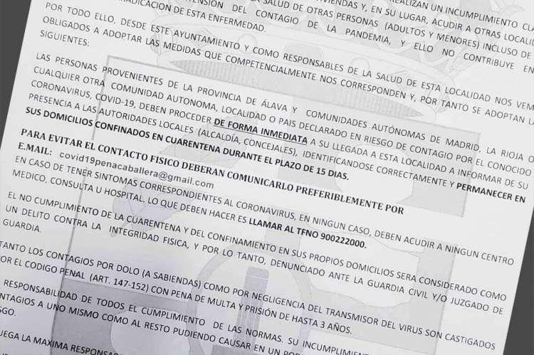Edicto Ayuntamiento de Peñacaballera