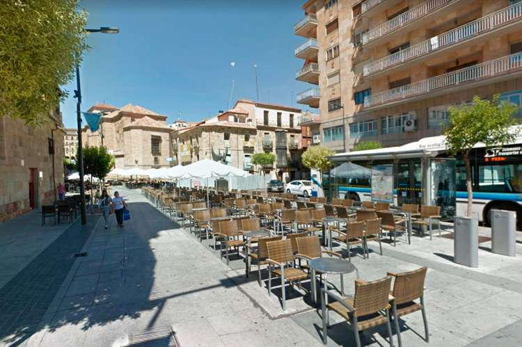 Plaza de San Julian donde se produjeron los hechos