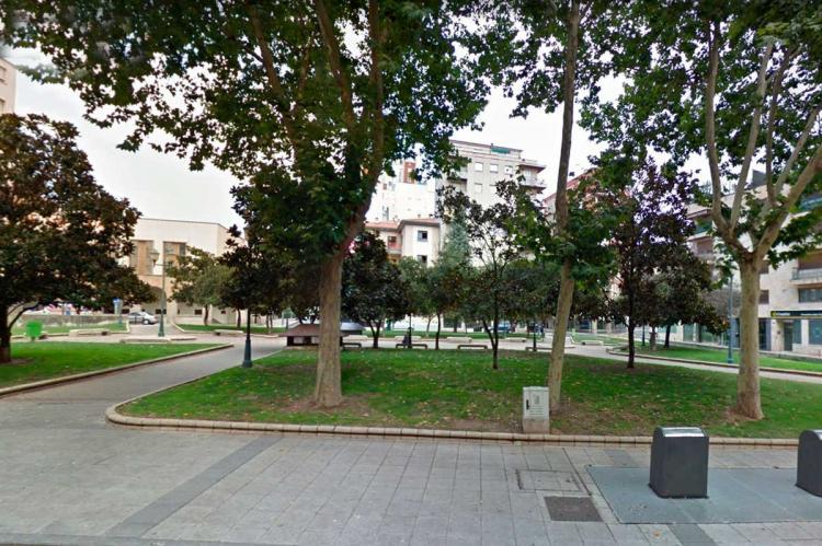 Plaza de Julián Sánchez el Charro , uno de los lugares en el que se produjeron los hechos