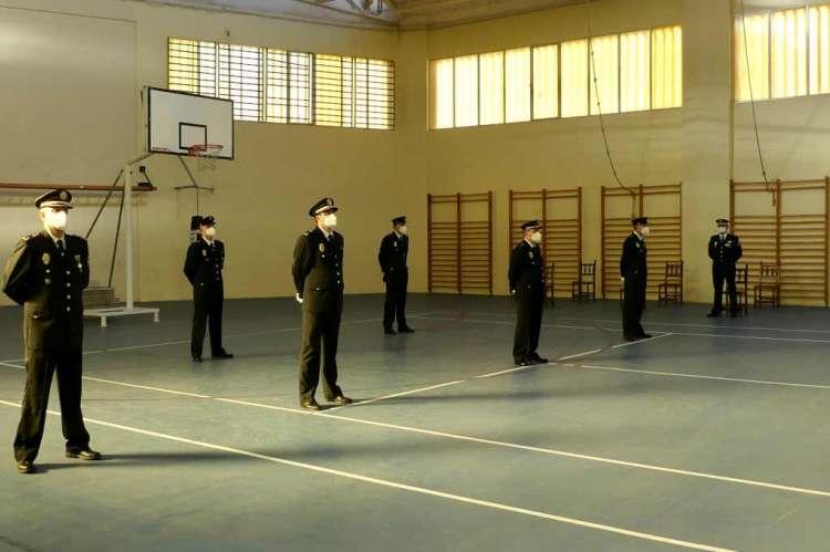 Acto entrega de condecoraciones de la Policía